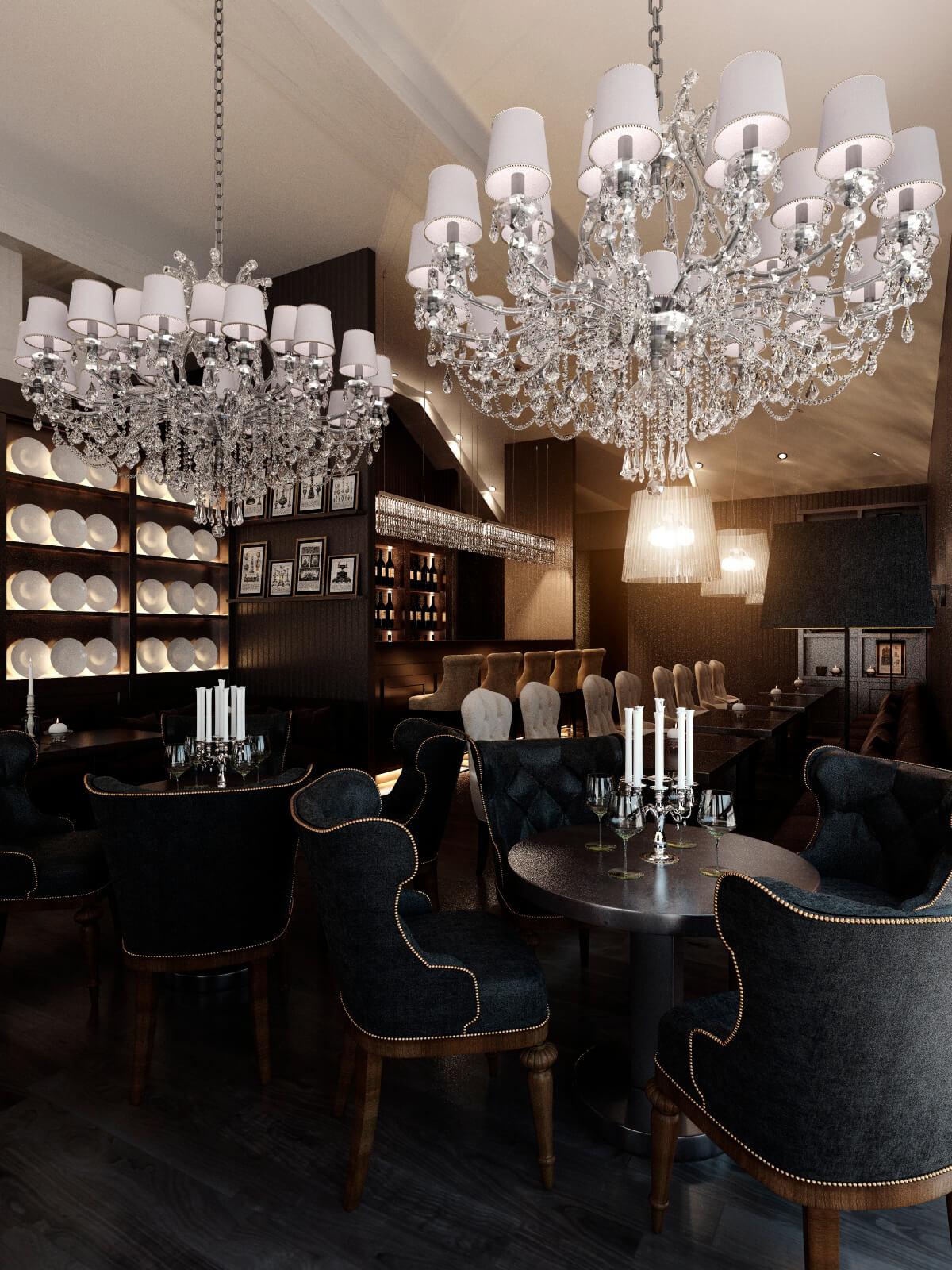 Ресторан в современной классике г. Кишенёв