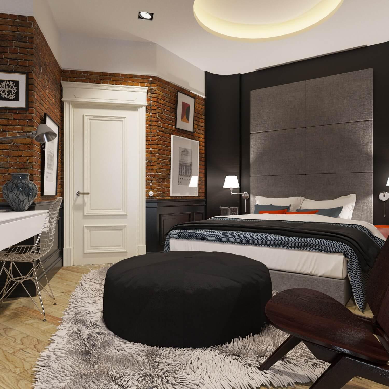 Спальня в стиле Лофт г. Харьков