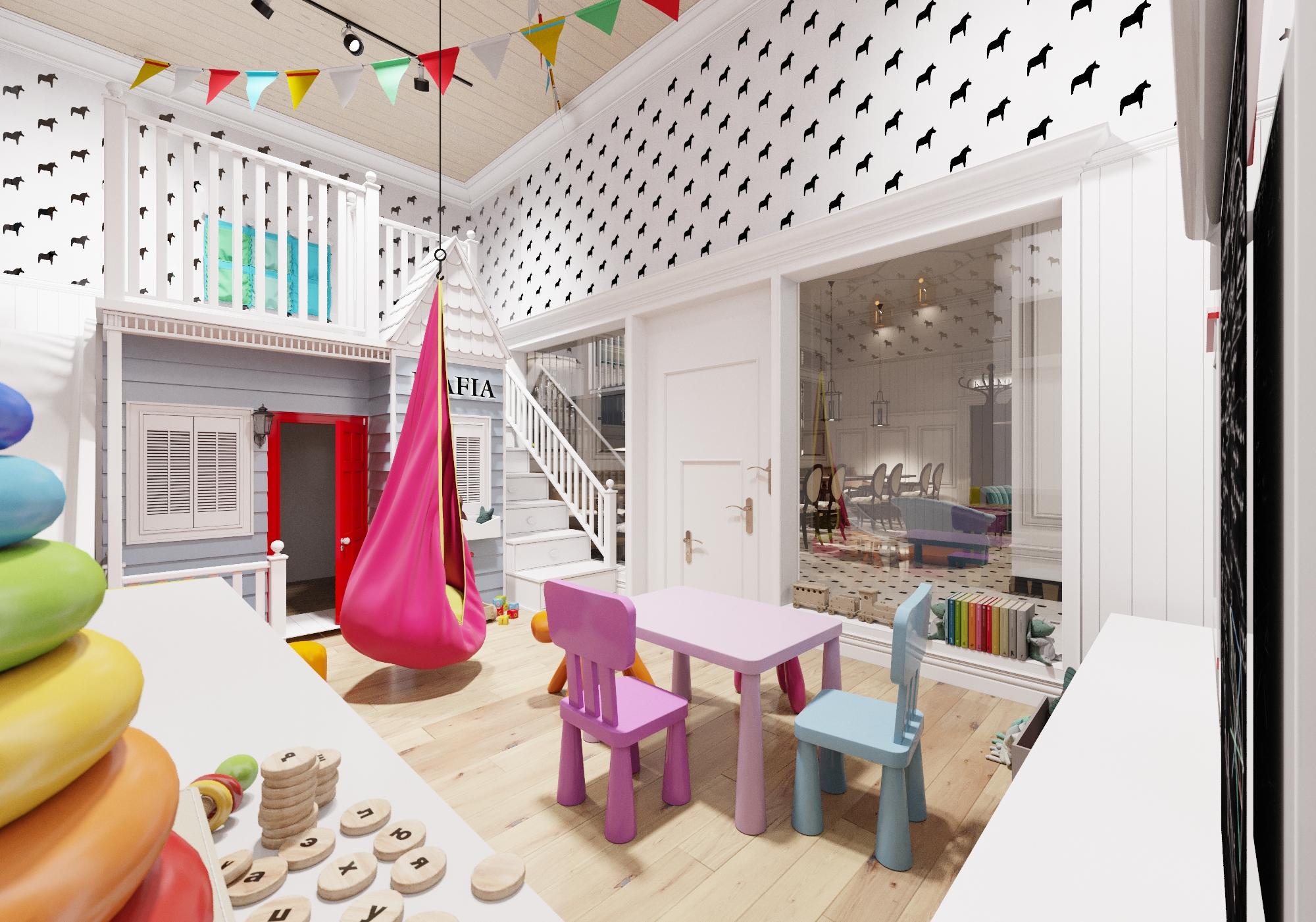 Детская комната ресторана MAFIA г. Чернигов