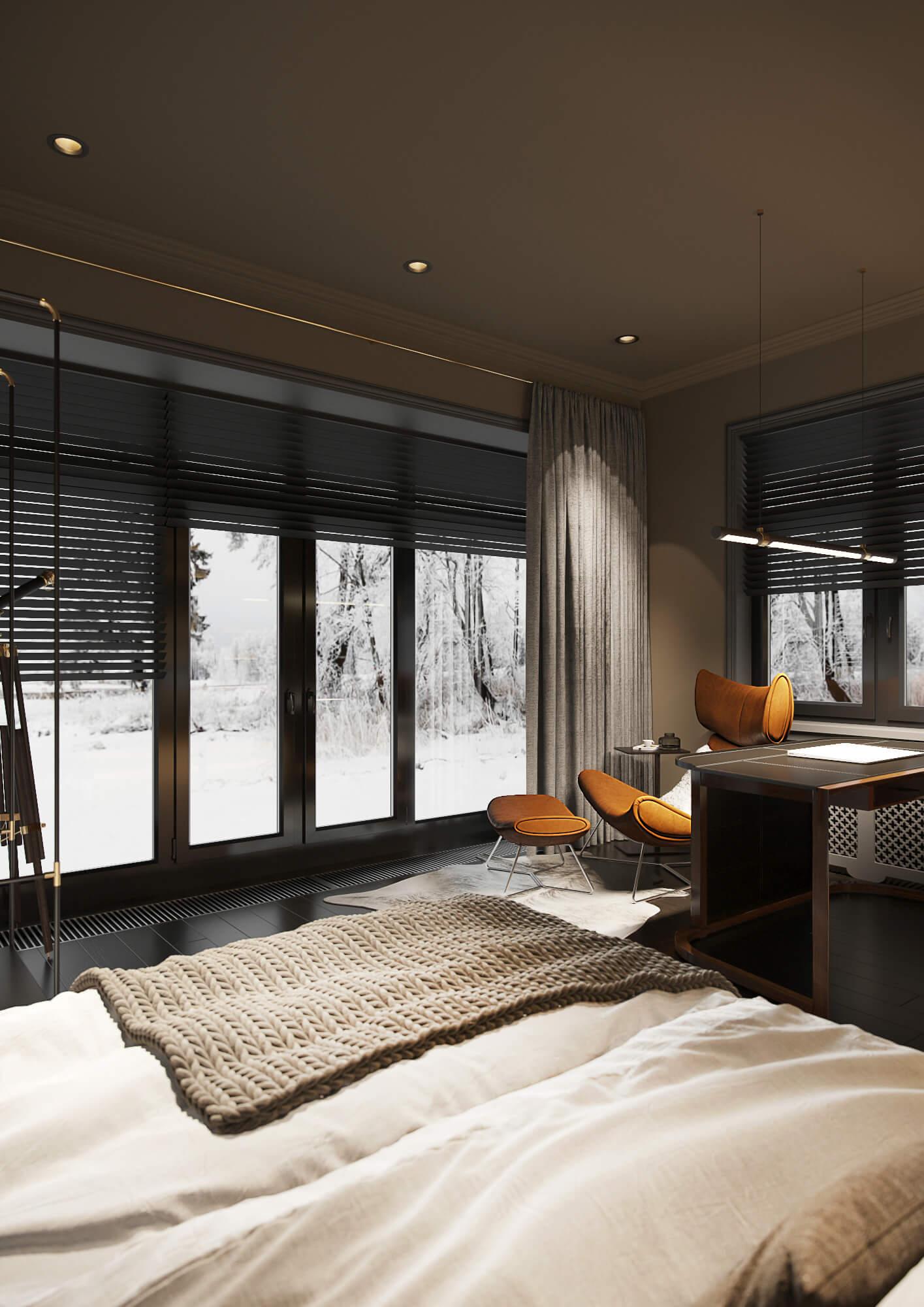 Кабинет-спальня г. Киев
