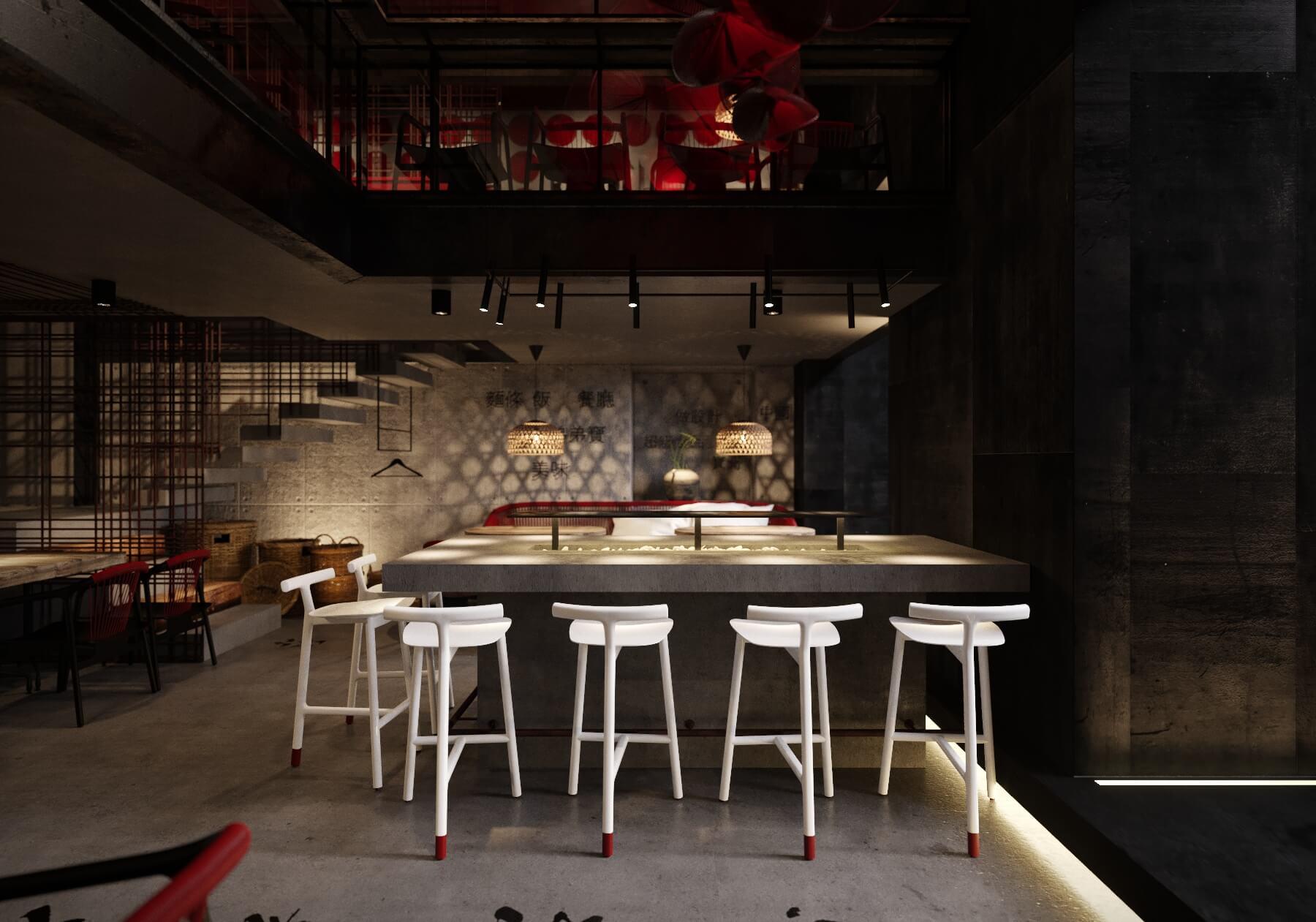 Ресторан BAO BEI Эктора Хименеса-Браво red variant